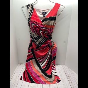 American living colorful dress